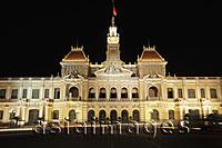 Ho Chi Minh City Hall at night, Vietnam - Alex Mares-Manton