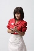 Waitress taking order - Asia Images Group