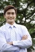 Portrait of businessman - Asia Images Group