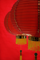 Still life of red lanterns - Asia Images Group