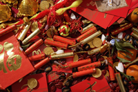 Various of Chinese New Year ornaments - Asia Images Group