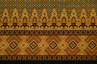 Detail of batik fabric - Asia Images Group