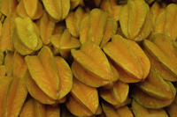 Star fruit at market - Asia Images Group