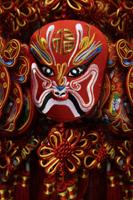 Still life of Chinese mask decoration - Asia Images Group