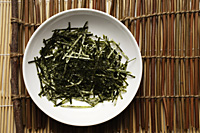 seaweed shreds in a white bowl - Asia Images Group