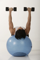Man working out - Asia Images Group