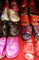 Silk Chinese slippers - Asia Images Group