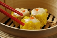 close up of dimsum - Asia Images Group
