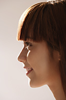 Profile of Asian girl - Asia Images Group