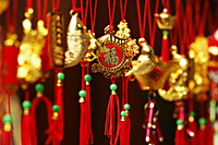 Gold Chinese New Year decoration - Asia Images Group