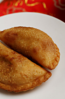 Curry puffs. Malay food - Asia Images Group