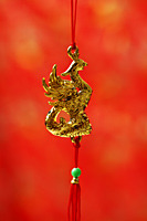 golden Pheonix, Chinese decoration - Asia Images Group