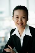Woman in business suit, portrait - Asia Images Group