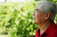 Mature man looking away - Asia Images Group
