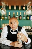 Portrait of a bartender - Asia Images Group