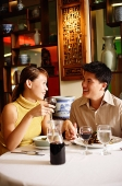 Couple dining in Chinese restaurant - Asia Images Group