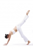 Woman doing cartwheel - Asia Images Group