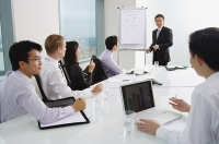 Business people in meeting - Asia Images Group