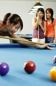 Women playing pool - Asia Images Group