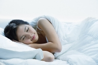 Young woman sleeping - Asia Images Group