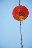 Red lantern, low angle view - Asia Images Group