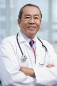 Doctor with arms crossed - Asia Images Group
