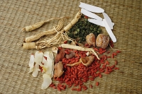 Chinese medicinal herbs, still life - Asia Images Group