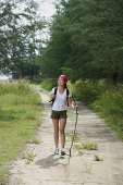 Woman hiking - Asia Images Group