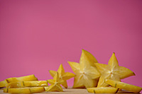 Sliced star fruit - Asia Images Group