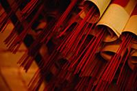 Close up of joss sticks - Asia Images Group