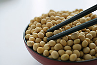 Still life of soya beans - Asia Images Group