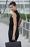 Businesswoman looking at camera - Asia Images Group