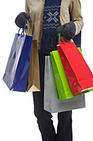 Young woman with shopping bags - Asia Images Group