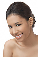 Young woman smiling at camera - Asia Images Group