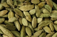 Lot of cardamom seeds - Asia Images Group