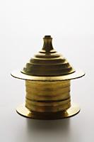 brass oil tea light holder - Asia Images Group