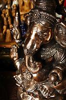 Bronze Elephant God, Ganesh. - Asia Images Group