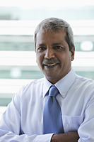 Head shot of Indian business man - Asia Images Group