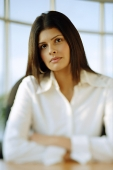 Female executive, looking at camera, portrait - Asia Images Group
