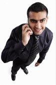 Executive using mobile phone - Asia Images Group