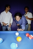 Young men playing pool - Asia Images Group