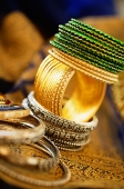 Still life with Indian bangles - Asia Images Group
