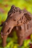 Still life of ceramic elephant - Asia Images Group