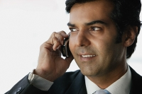 Businessman on the phone - Asia Images Group