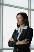 Businesswoman with arms crossed - Asia Images Group