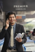 Man talking on the phone - Asia Images Group