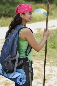 Young woman hiking - Asia Images Group