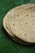 Close-up of chapati - Asia Images Group