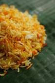 Close-up of saffron rice - Asia Images Group