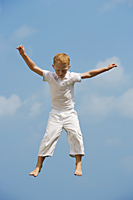 boy in mid-air - Alex Mares-Manton